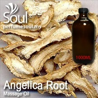 Massage Oil Angelica Root - 1000ml