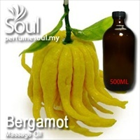 Massage Oil Bergamot - 500ml