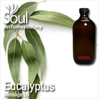Massage Oil Eucalyptus - 500ml