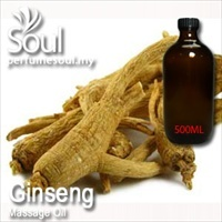 Massage Oil Ginseng - 500ml