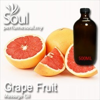 Massage Oil Grapefruit - 500ml