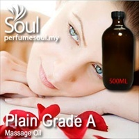 Massage Oil Plain Grade A - 500ml
