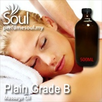 Massage Oil Plain Grade B - 500ml