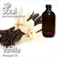 Massage Oil Vanilla - 500ml